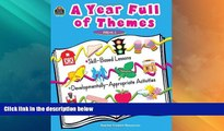 Big Sales  A Year Full of Themes Early Childhood Skill based lessons Developmentally appropriate
