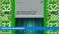Buy NOW  Designing Adaptive and Personalized Learning Environments (Interdisciplinary Approaches