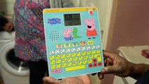 Peppa Pig toy sounds like it is swearing
