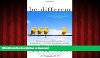 liberty books  Be Different: My Adventures with Asperger s and My Advice for Fellow Aspergians,