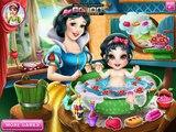 Disney Princess Games - Snow White Baby Wash – Best Disney Games For Kids Snow White