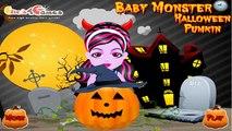 Baby Monster Halloween Pumkin   Halloween Games To Play   Halloween Games   Halloween Makeup