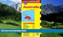 Big Deals  Australia Travel Map Fifth Edition (Periplus Travel Maps)  Best Seller Books Most Wanted