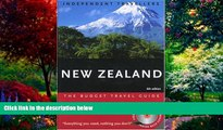 Books to Read  Independent Travellers New Zealand 2005  The Budget Travel Guide (Independent