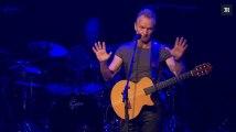La minute de silence de Sting lors du concert de réouverture du Bataclan