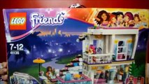 Lego Friends Livis Pop Star House Playset Girlz 4 Life DVD Play & Review