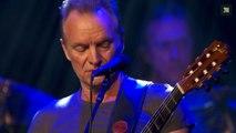 La minute de silence de Sting lors du concert de reeouverture du Bataclan