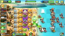Plants Vs Zombies 2 Gameplay Walkthrough - New Max Level Plants 3 Stars Challenge iOS/Android