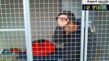 Les pleurs de Rémi Gaillard, enfermé dans une cage depuis deux jours