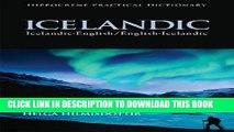 Best Seller Icelandic-English/English-Icelandic Practical Dictionary (Icelandic Edition) Free