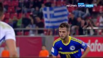 All Goals & highlights - Greece 1-1 Bosnia 13.11.2016ᴴᴰ