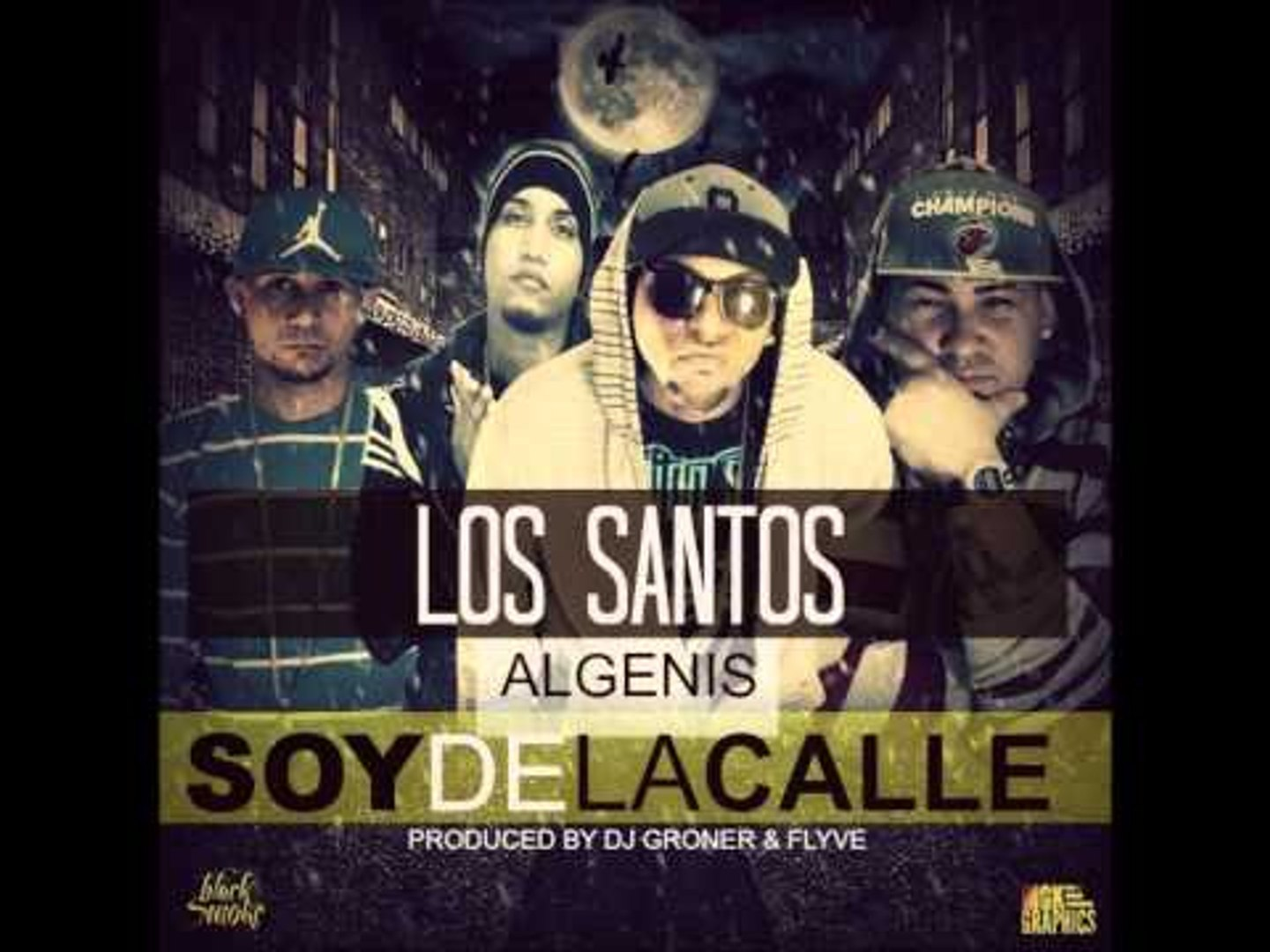 LOS SANTOS FT ALGENIS THE OTHER FACE SOY DE LA CALLE PREVIEW NEW 2013