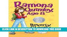 Best Seller Ramona Quimby, Age 8 Free Read