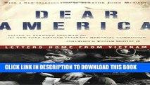 Best Seller Dear America: Letters Home from Vietnam Free Read