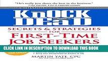 Ebook Knock  em Dead Secrets   Strategies for First-Time Job Seekers Free Read