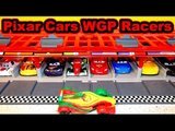 Pixar Cars World Grand Prix Racers with the Race Cars Launcher with Lightning McQueen, and RIP