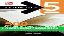 Ebook 5 Steps to a 5 500 AP English Language Questions to Know by Test Day (5 Steps to a 5 on the