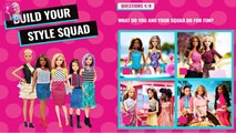 Build Your Style Barbie Squad | Barbie Squad For Girls