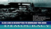 Best Seller Disasters and Democracy: The Politics Of Extreme Natural Events Free Download