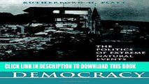 Ebook Disasters and Democracy: The Politics Of Extreme Natural Events Free Read