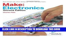 Ebook Make: Electronics: Learning Through Discovery Free Read