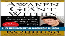Best Seller Awaken the Giant Within : How to Take Immediate Control of Your Mental, Emotional,