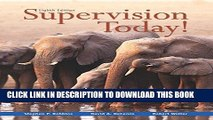 Best Seller Supervision Today! (8th Edition) Free Download