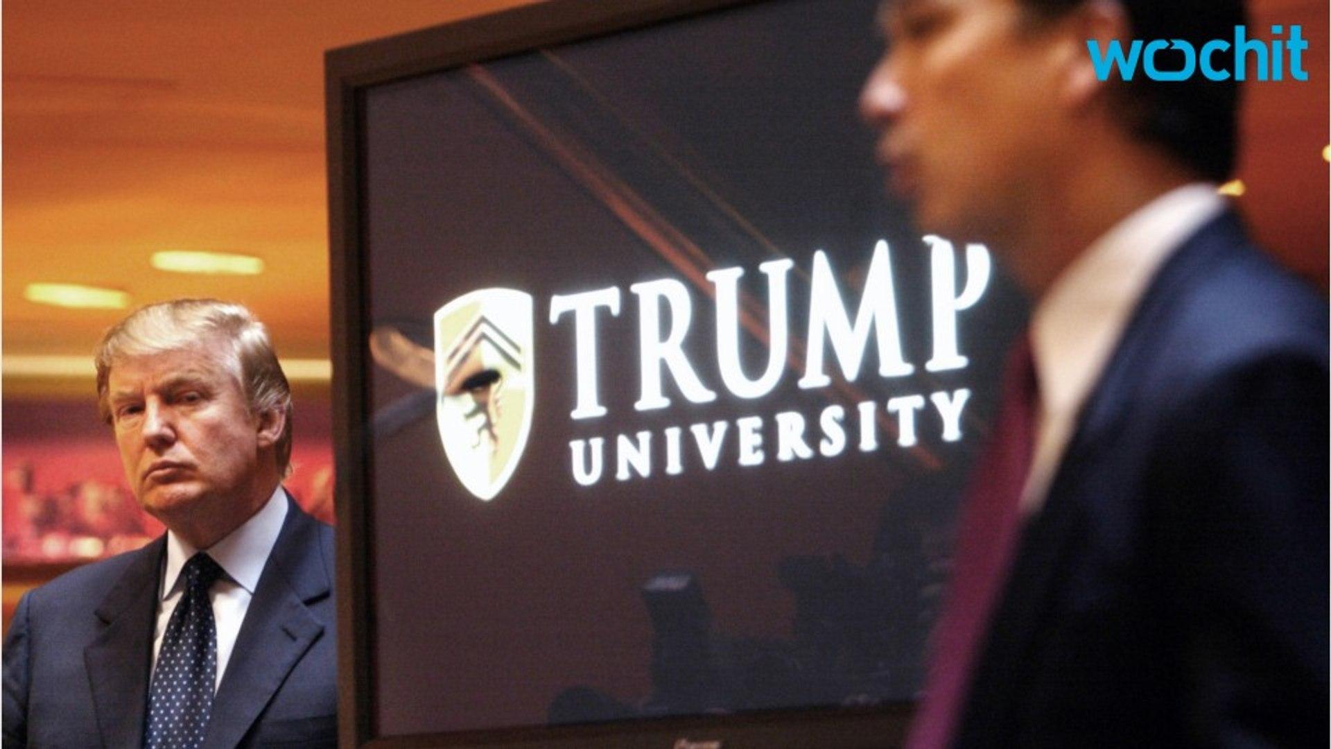 Trump Lawyers Ask for Delay of 'Trump U' Trial