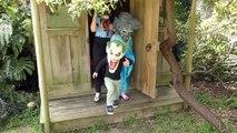 Spidergirl Vs Bad Baby Joker Boy Vs Zombie Elsa Vs Venom! Kids Real Life Superhero Video!