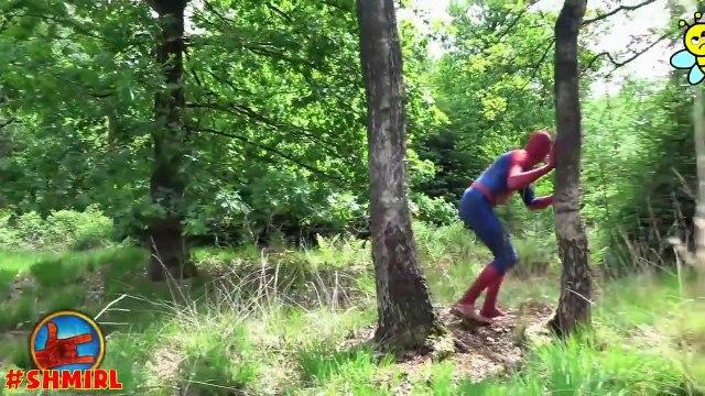 Spiderman & Batman Mystery Box w/ Joker Superman - Super Hero in Real Life Magic Mystery Box Heroes
