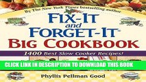 Best Seller Fix-It and Forget-It Big Cookbook: 1400 Best Slow Cooker Recipes! Free Read