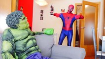 Spiderman vs Zombies Superheroes - Extreme Virus Contamination! Fun Zombie Superhero In Real Life