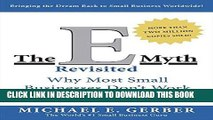 Best Seller The E-Myth Revisited: Why Most Small Businesses Don t Work and What to Do About It