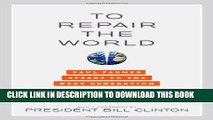 Ebook To Repair the World: Paul Farmer Speaks to the Next Generation (California Series in Public