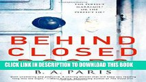 Ebook Behind Closed Doors: The most emotional and intriguing psychological suspense thriller you