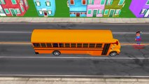 Wheels on the Bus Nursery Rhymes Collection for Babies | Non Stop 3D Nursery Songs for Babies