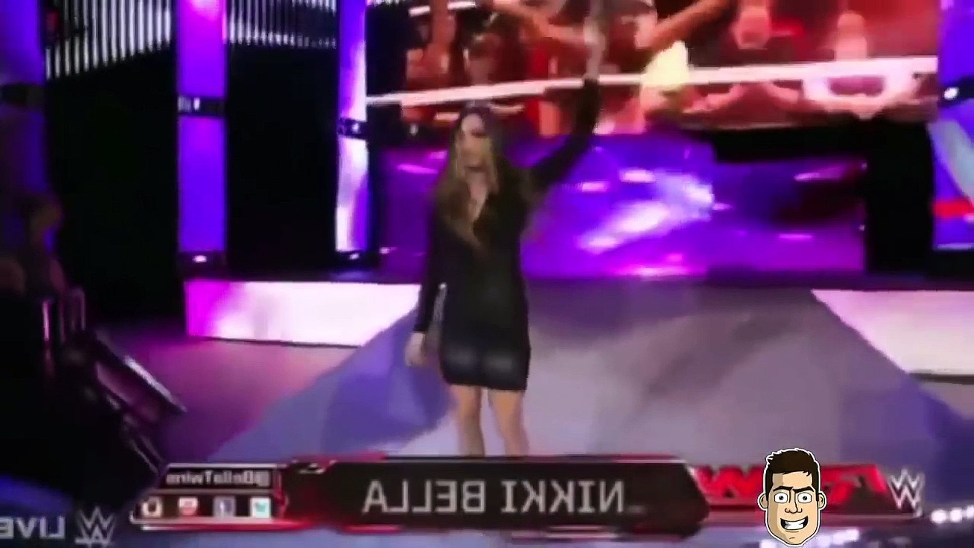 WWE TOP 100 DIVA BOTCHES WWE Woman Fails Wrestling Funny Moments pee poo fart wwe