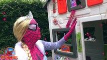 Frozen Elsa Compilation Frozen Elsa and Spiderman - Superheroes in real life SHMIRL