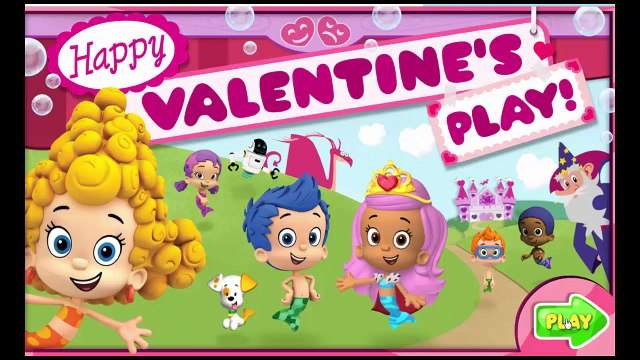 Bubble Guppies Happy Valentines - Bubble Guppies Video Game For Kids