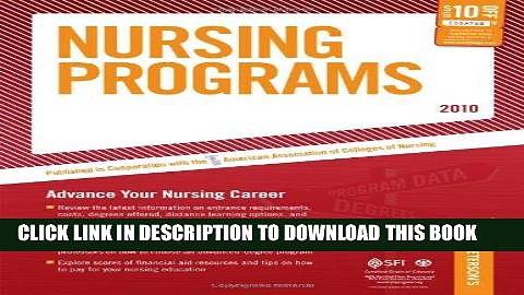 Read Now Nursing Programs – 2010: Advance Your Nursing Career (Peterson s Nursing Programs)