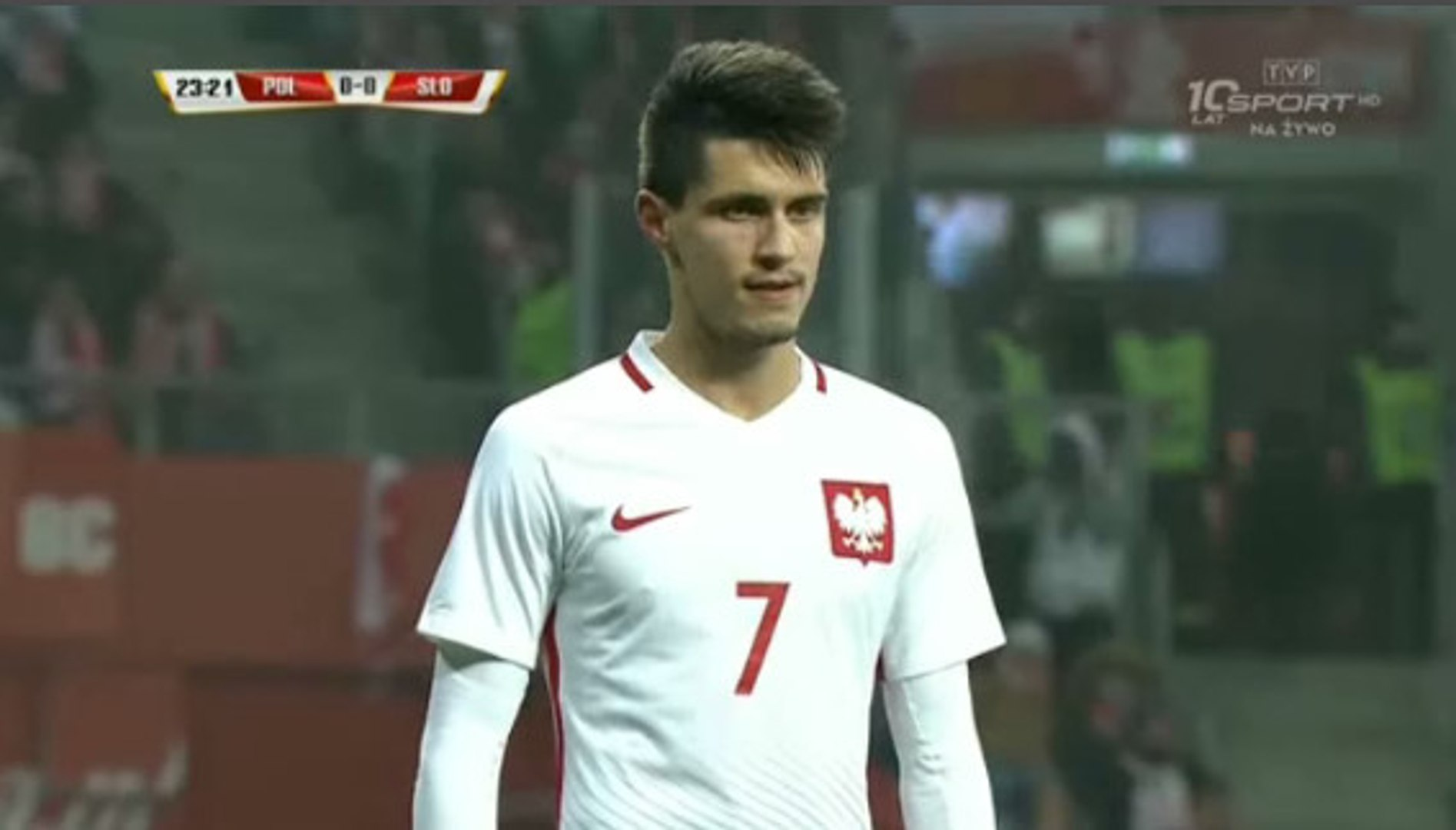Miha Mevlja Goal - Poland 0-1 Slovenia - (14/11/2016) / FRIENDLY MATCH