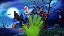 Little Monsters Skeleton Dracula Mummy Halloween Finger Family Rhymes Collection For Children