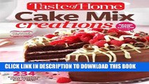 Best Seller Taste of Home Cake Mix Creations Brand New Edition: 234 Cakes, Cookies   other