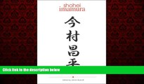 EBOOK ONLINE  Shohei Imamura (Cinematheque Ontario Monographs)  BOOK ONLINE