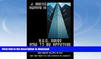 READ  H.U.D. Rules How to Be Approved for a Loan Modification: Self Help Guide for Loan