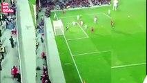 Le splendide ciseau de Cristiano Ronaldo contre la Lettonie