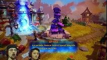 ALL SKYLANDERS, DEAD!!! Skylanders Imaginators Part 2 NIGHTMARE MODE! MUSHROOM RIVER FULL Level