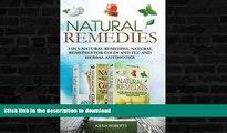 FAVORITE BOOK  Natural Remedies: 3 in 1: Natural Remedies, Natural Remedies For Colds and Flu and