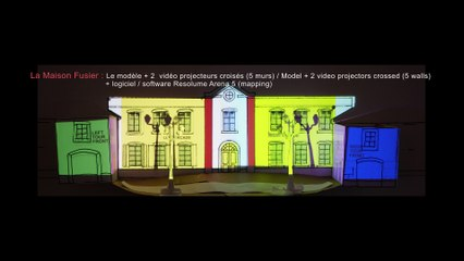 Voltaire Video Mapping Show 2016