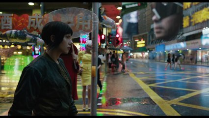 Ghost in the Shell : premier trailer du film